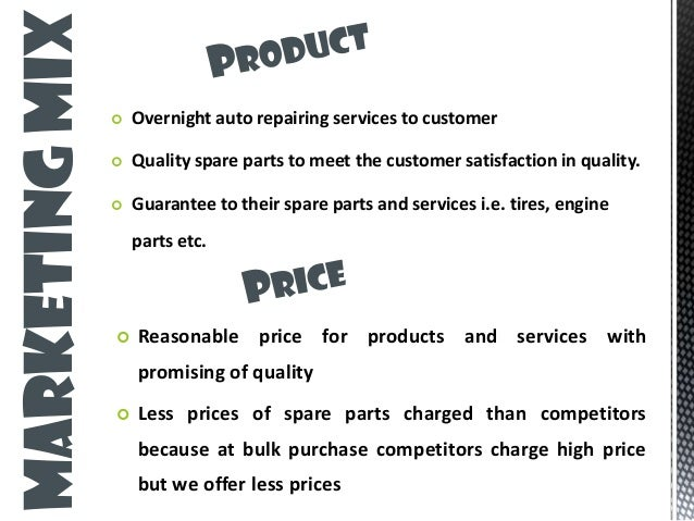 automotive repair business plan