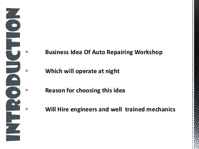 Durango automotive business plan