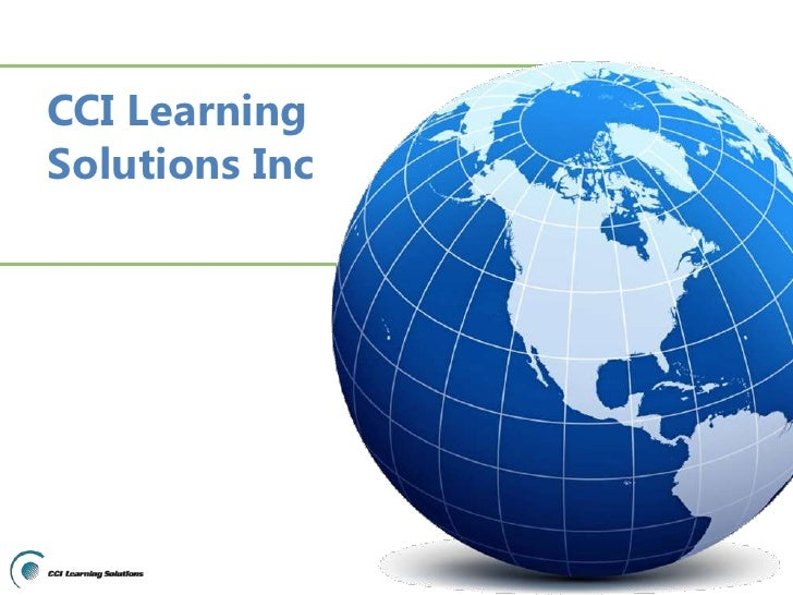 CCI Learning Solutions Inc<br />