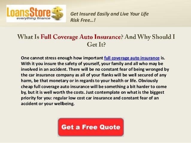 Full Coverage Auto Insurance Quotes Interesting Full Coverage Auto Insurance Quotes Online Cheap Full Coverage Car I