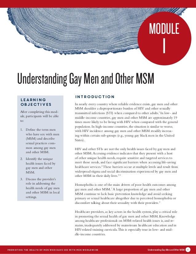 Msm Gay
