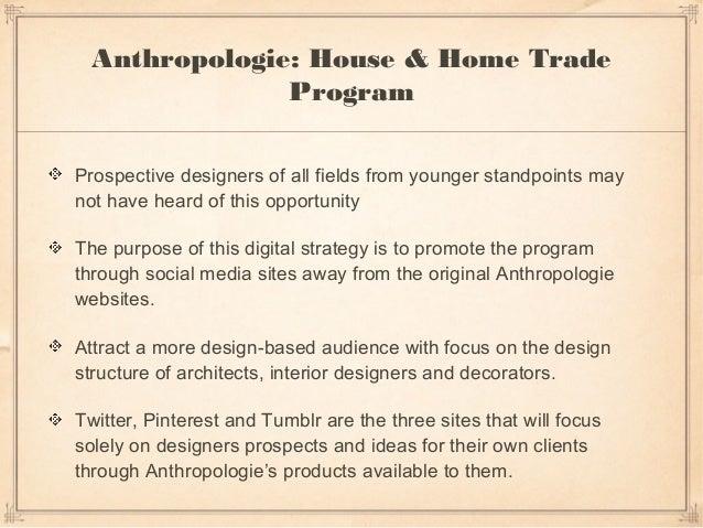 Anthropologie: Full Digital Strategy Slide 3