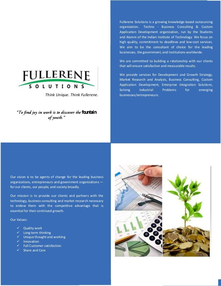 Fullerene Solutions is a growing knowledge-based outsourcing                                                              ...