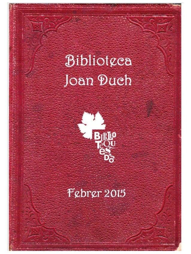 Fullet biblioteques amb DO Juneda