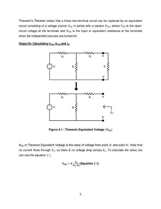 thevenin theorem problems and solutions