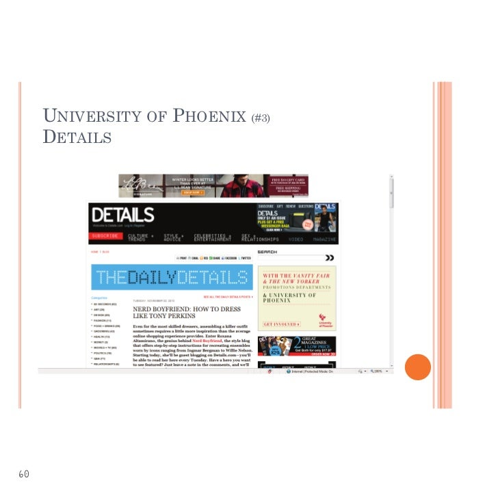 University Of Phoenix Adult Learning Style