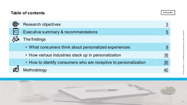The power of me: The impact of personalization on marketing performance Slide 2