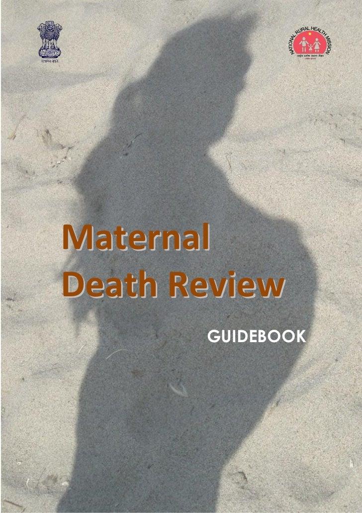 MaternalDeath Review       GUIDEBOOK
