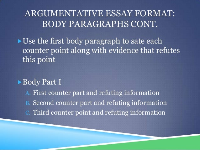 point and counterpoint essays The introductory paragraph has a strong hook or attention grabber that is appropriate for the audience this could be a strong statement, a relevant quotation, statistic, or question addressed to the reader the introductory paragraph has a hook or attention grabber, but it is weak, rambling or.