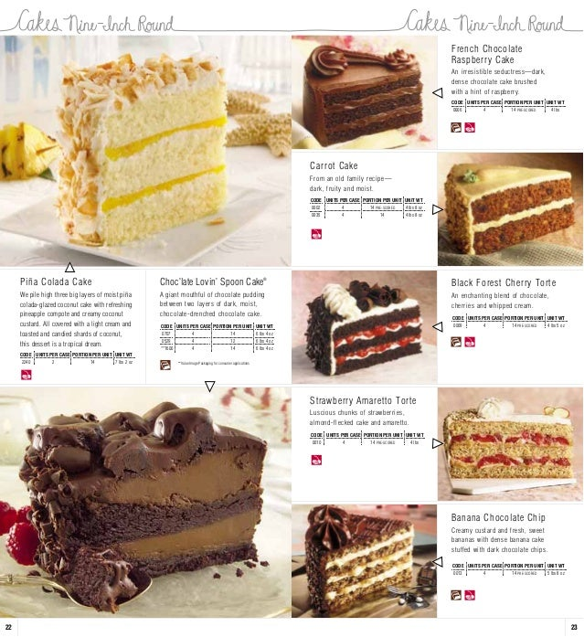 Full Linebrochure Sweet Cakes