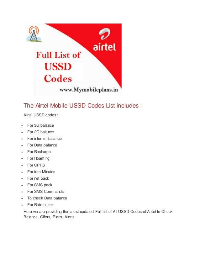 Airtel prepaid number check