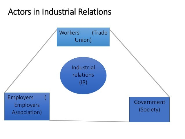 PURPOSE OF TRADE UNION Industrial Relations Management