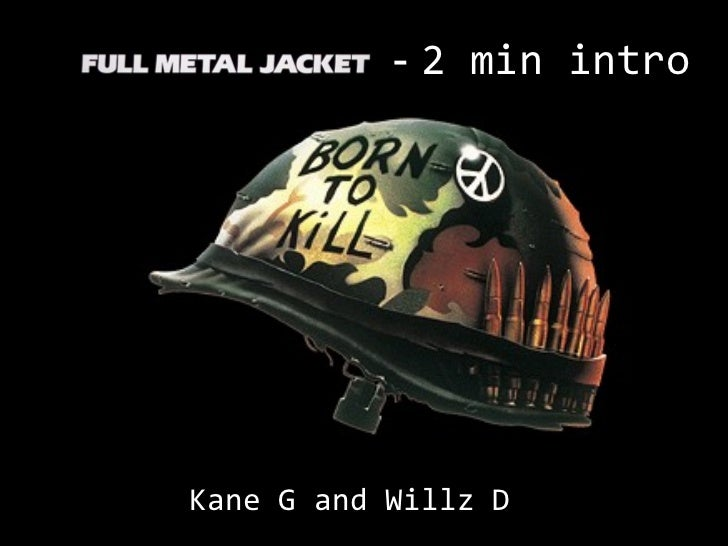 Full metal jacket film analysis