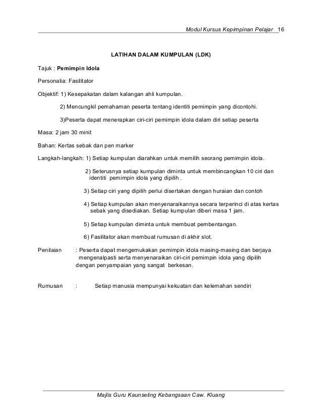 Full Modul Kursus Kepimpinan 1