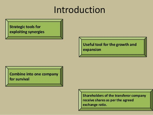mergers as a tool for survival While many congregations are motivated by survival, an increasing number  identify  the standard reference for churches that see mergers as a strategic tool  for.