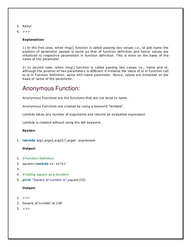 PYTHON FULL TUTORIAL WITH PROGRAMMS