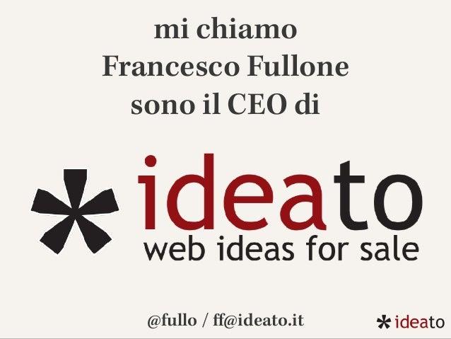 COME GESTIRE IL BUDGET TRA INTEGRATION, DEPLOY E DELIVERY? (Francesco Fullone)