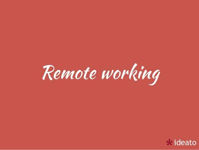 Francesco Fullone - Remote working per un imprenditore, istruzioni all'uso Slide 3