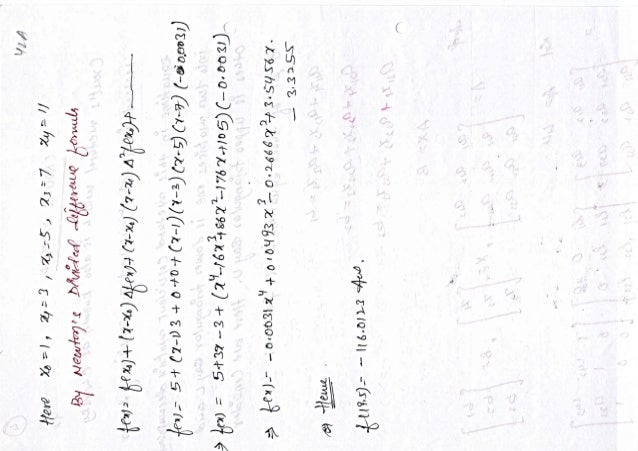notes of Mathematics- III (Theory & numerical part)