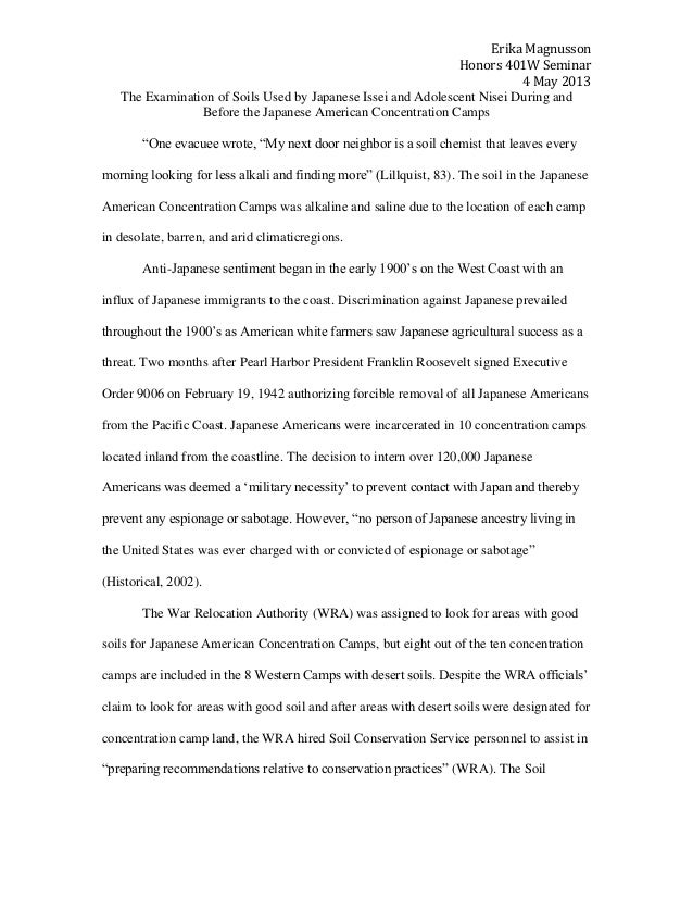 Japanese-American Internment Camps Essay