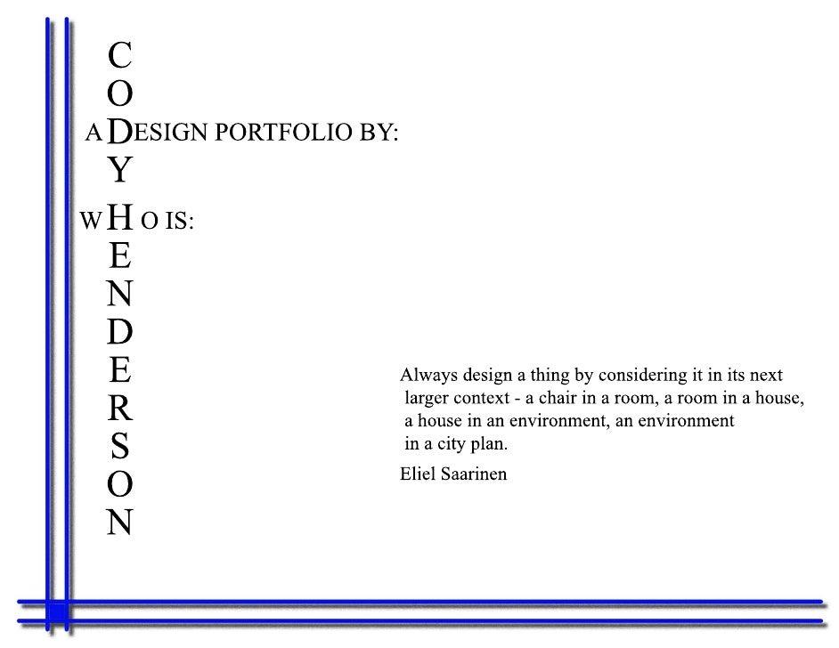2009 Portfolio