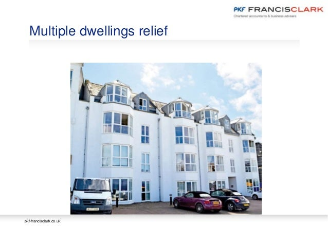 Multiple Dwellings Relief >> Property Sector Annual Update 2017