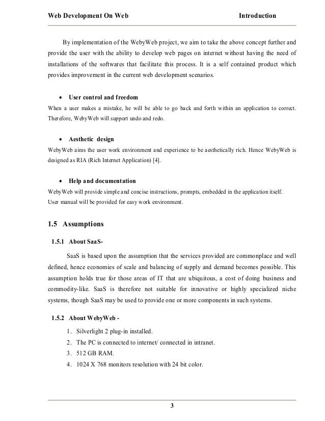 Web Development On Web Project Report