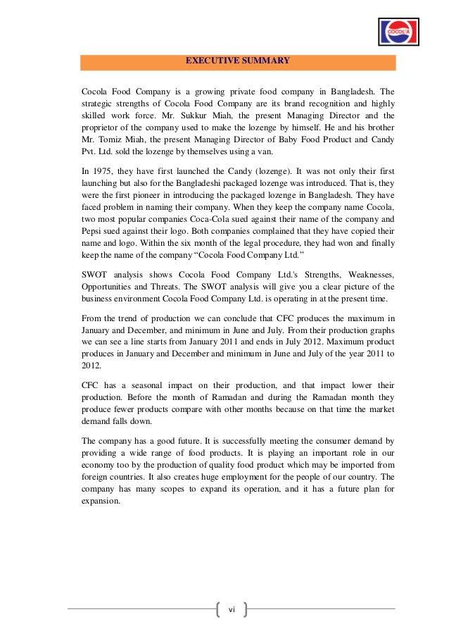 Internship Report BBA