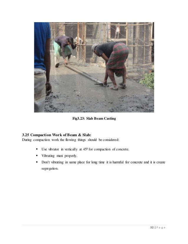internship report on building construction company pdf