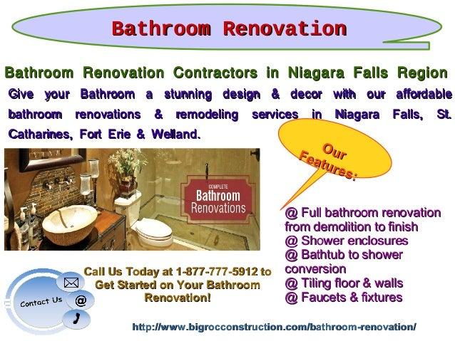 Bathroom Remodeling Niagara Falls Ny full service construction & renovation company in niagara falls region