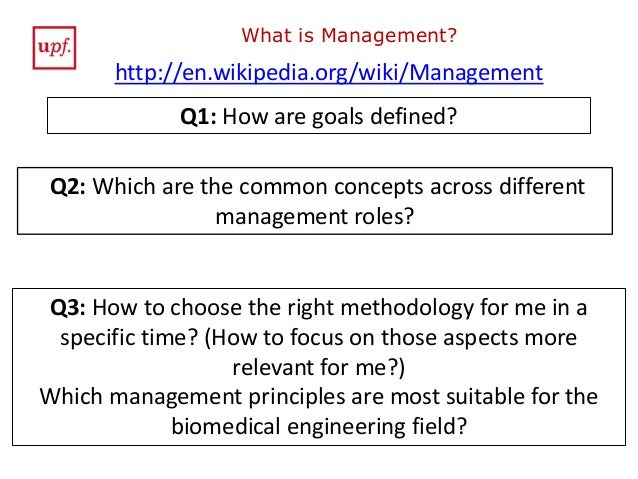 Project Management and Innovation in Biomedical Engineering. Section …