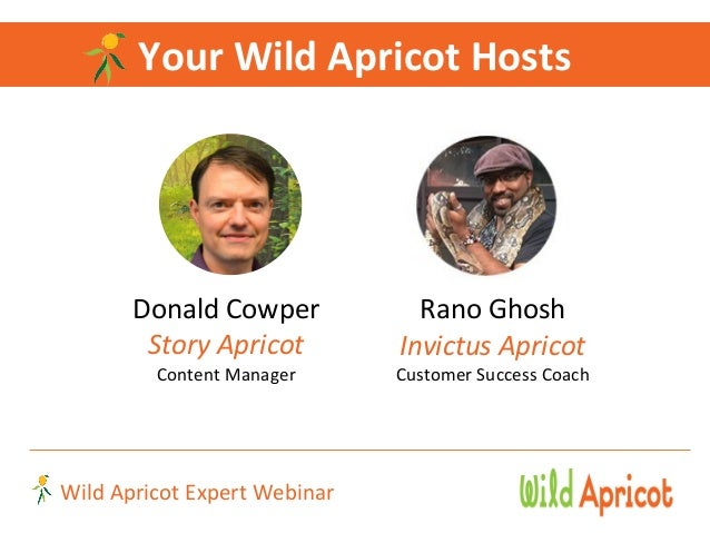 Wild Apricot Expert Webinar: 5 Common Legal Traps for Nonprofits and How to Avoid Them  Slide 2