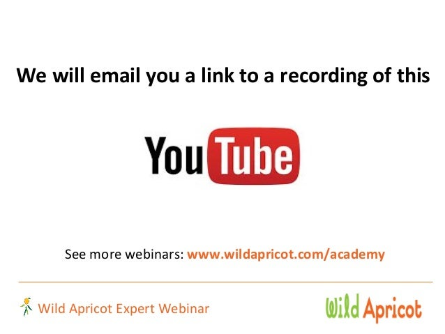 Wild Apricot Expert Webinar: 5 Common Legal Traps for Nonprofits and How to Avoid Them  Slide 3