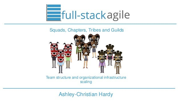 Ashley-Christian Hardy Squads, Chapters, Tribes and Guilds Team structure and organizational infrastructure scaling