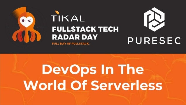 DevOps In The World Of Serverless