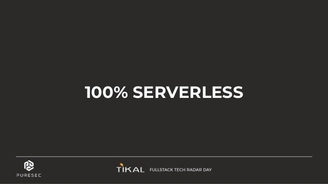 Limited list of AWS serverless managed services Not Only Functions ● Serverless ≠ FaaS (Function as a Service) ● Servicefu...