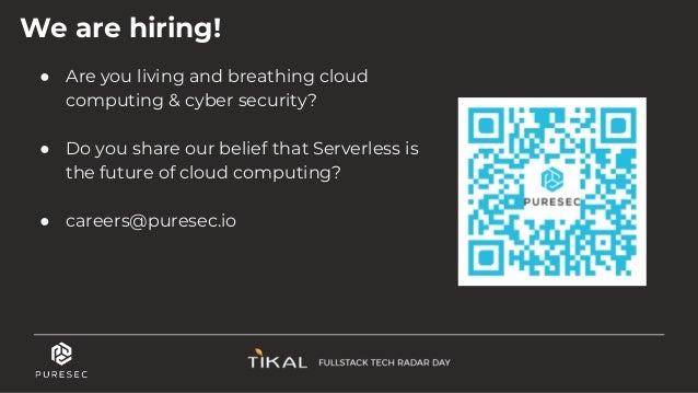 DevOps In The World of Serverless - PureSec @ Fullstack Radar Day