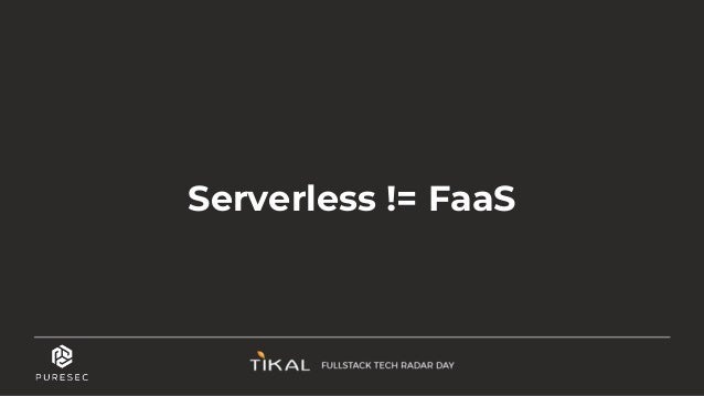 ״Serverless Is a State of Mind״ Ben Kehoe
