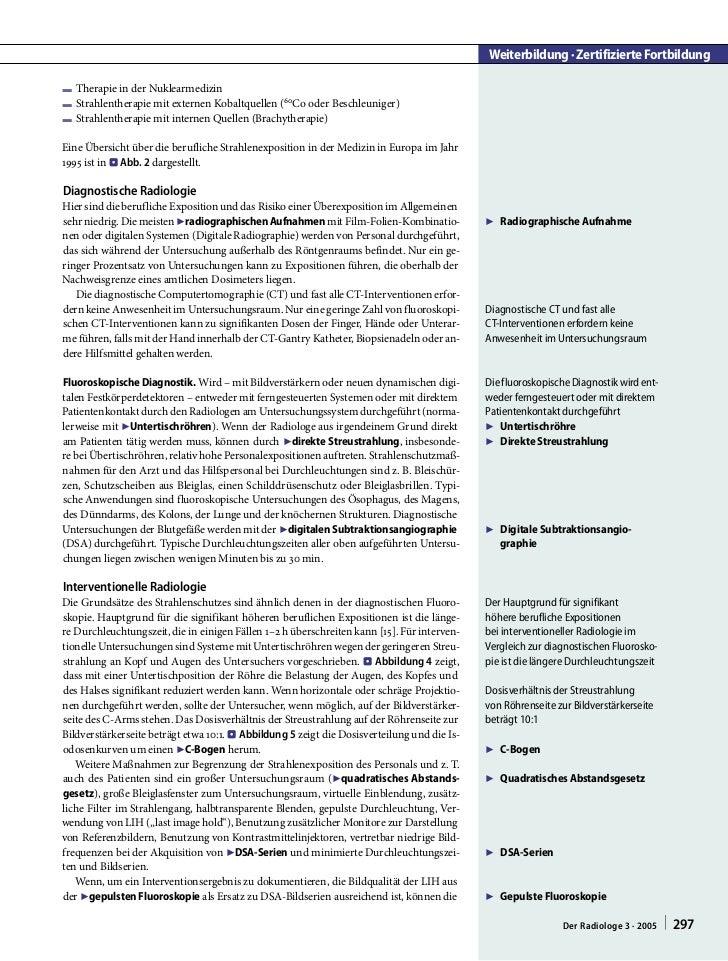 Weiterbildung · Zertifizierte FortbildungF Therapie in der NuklearmedizinF Strahlentherapie mit externen Kobaltquellen (60...