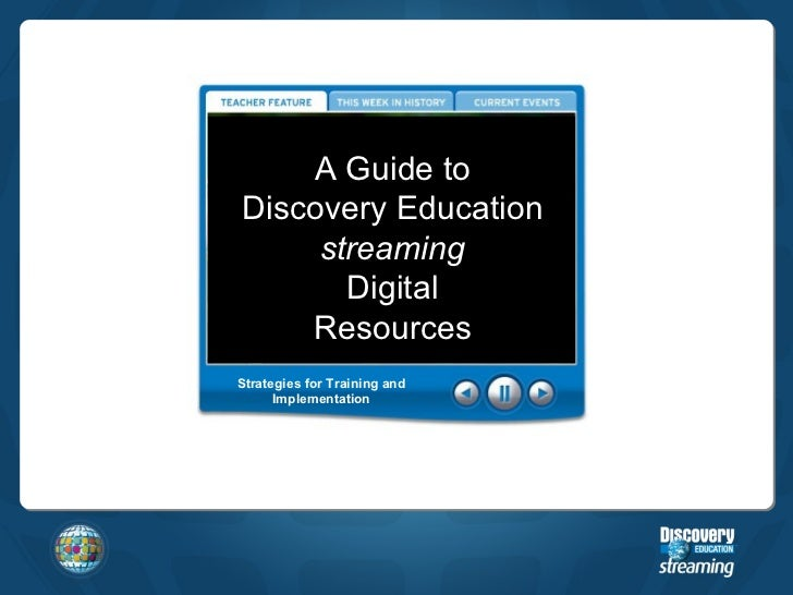 Discovery Education United Streaming - Popular Education 2017