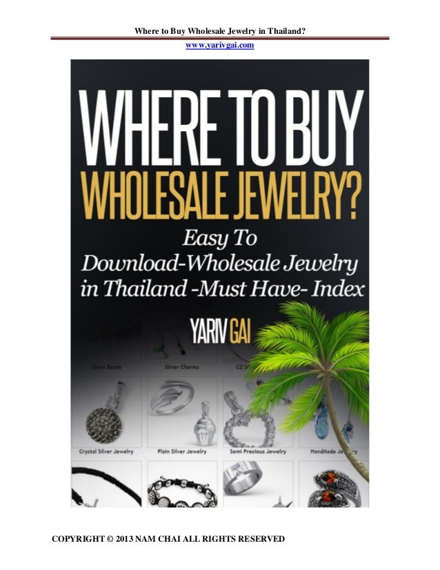 Full version index where to buy wholesale jewelry in