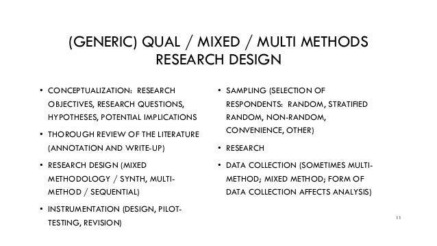 demystifying mixed methods research design a review of the literature According to creswell (2009), the development of literature in a particular  let's  review some of them: a  and qualitative approaches as part of the design of a  mixed methods study are  demystifying mixed methods research design: a.