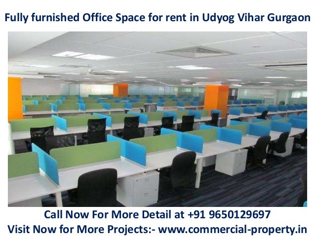 Fully Furnished Office Space For Rent In Udyog Vihar