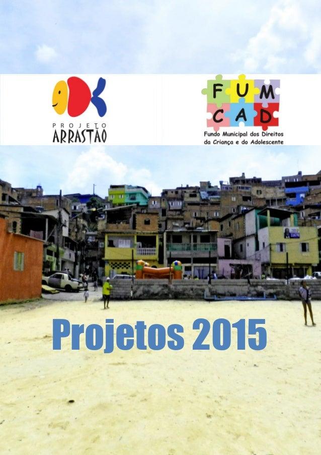 Projetos 2015