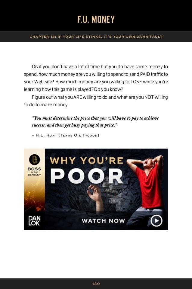 F.U Money - Dan Lok