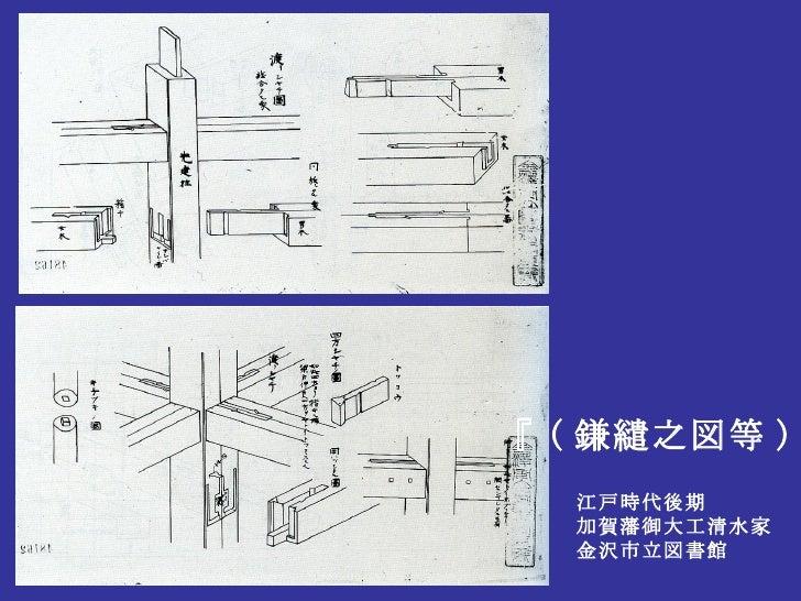 『 ( 鎌繾之図等 ) 』 江戸時代後期 加賀藩御大工清水家 金沢市立図書館