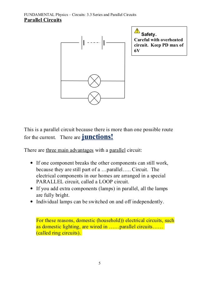 fun 3 3 series and parallel circuits notes rh slideshare net Speaker Wiring Parallel vs Series 12 Volt Parallel vs Series
