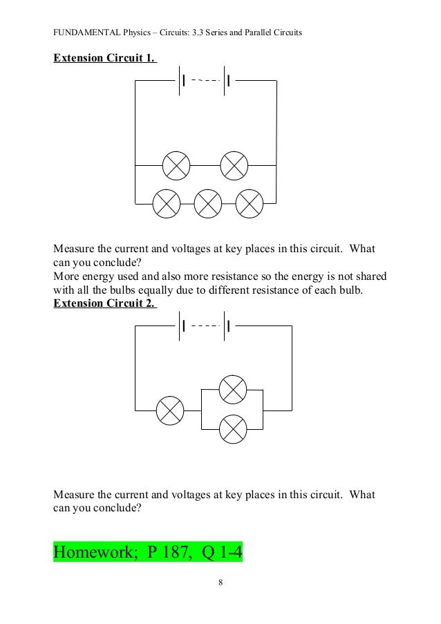 fun 3 3 series and parallel circuits notes rh slideshare net