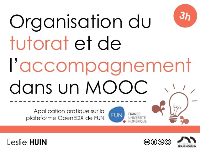 projet mooc - formation