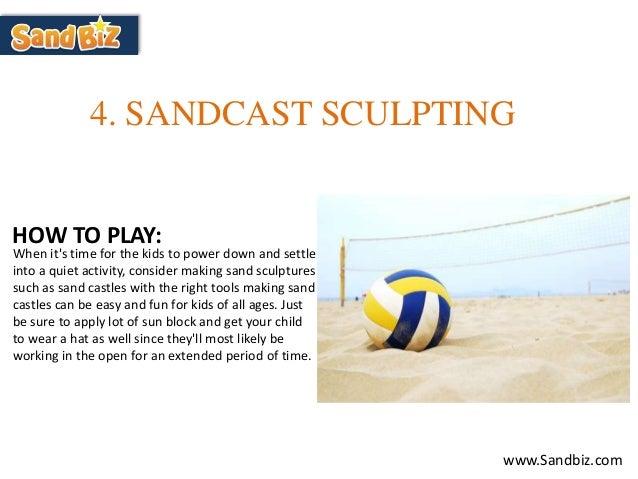 Fun beach games for kids